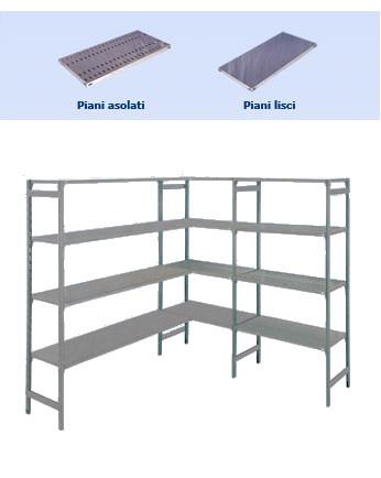 Scaffalature In Alluminio.Scaffalatura In Alluminio Scaffalature A Gancio E A