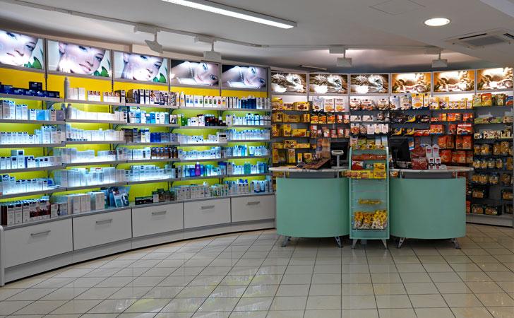 Farmacia arredamento farmacia no food arredo negozi for Arredamenti monterotondo