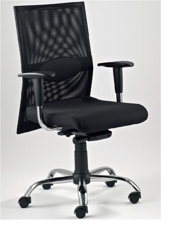 Dama sedie e poltrone operative sedie e poltrone for Negozi sedie ufficio roma