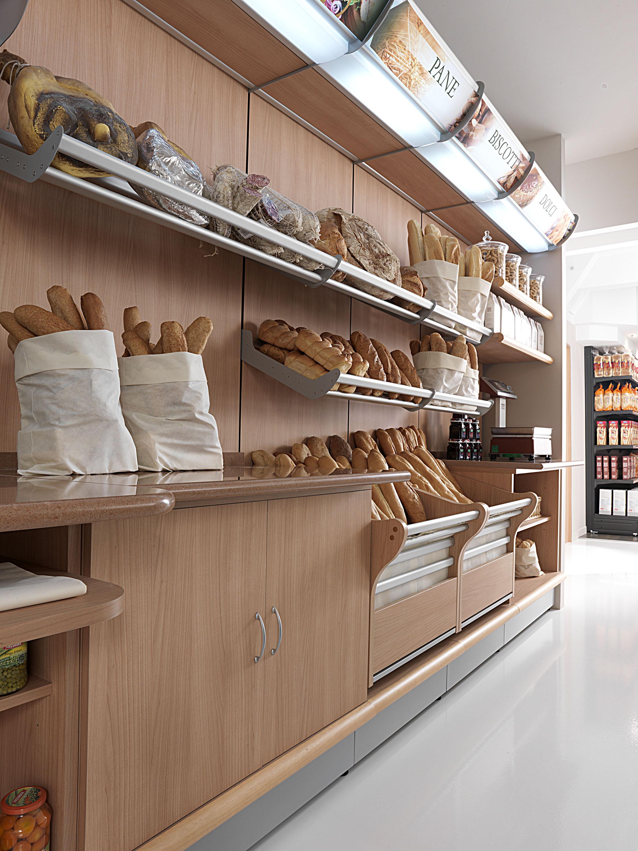 Panetteria e forno arredamento panetteria arredamento for Arredamento panetteria