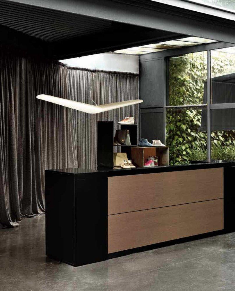 Reception voguer reception e banconi arredo ufficio for Arredamenti ufficio roma