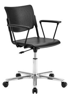 Poltrona lamia con ruote sedie e poltrone operative for Negozi sedie ufficio