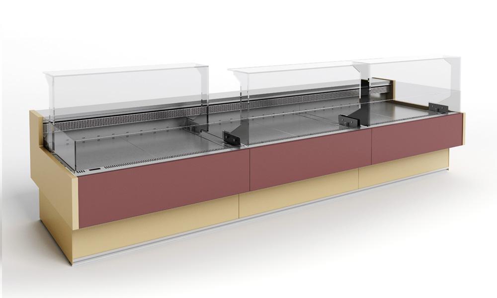 Klimat double banchi frigo vetrina frigo for Negozi sedie ufficio