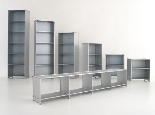 Scaffalature metalliche gervasoni arredamenti roma for Scaffali per ufficio acciaio